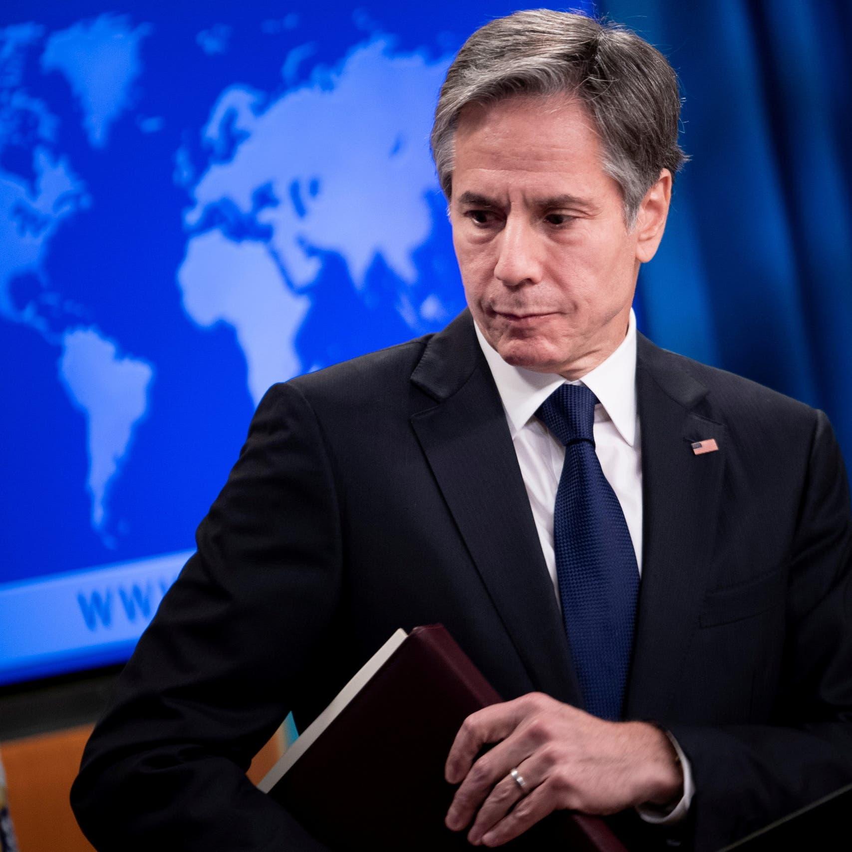 """بلينكن: واثقون بأن إيران هاجمت السفينة """"ميرسر ستريت"""""""