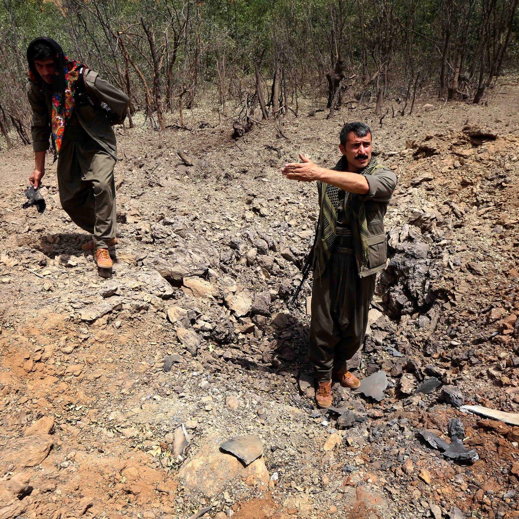 """قصف تركي على كردستان.. وأنقرة تعلن مقتل 13 من """"الكردستاني"""""""
