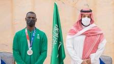 الأمير محمد بن سلمان يستقبل طارق حامدي