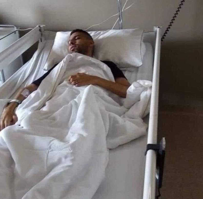 مؤمن زكريا في المستشفى (مواقع التواصل)