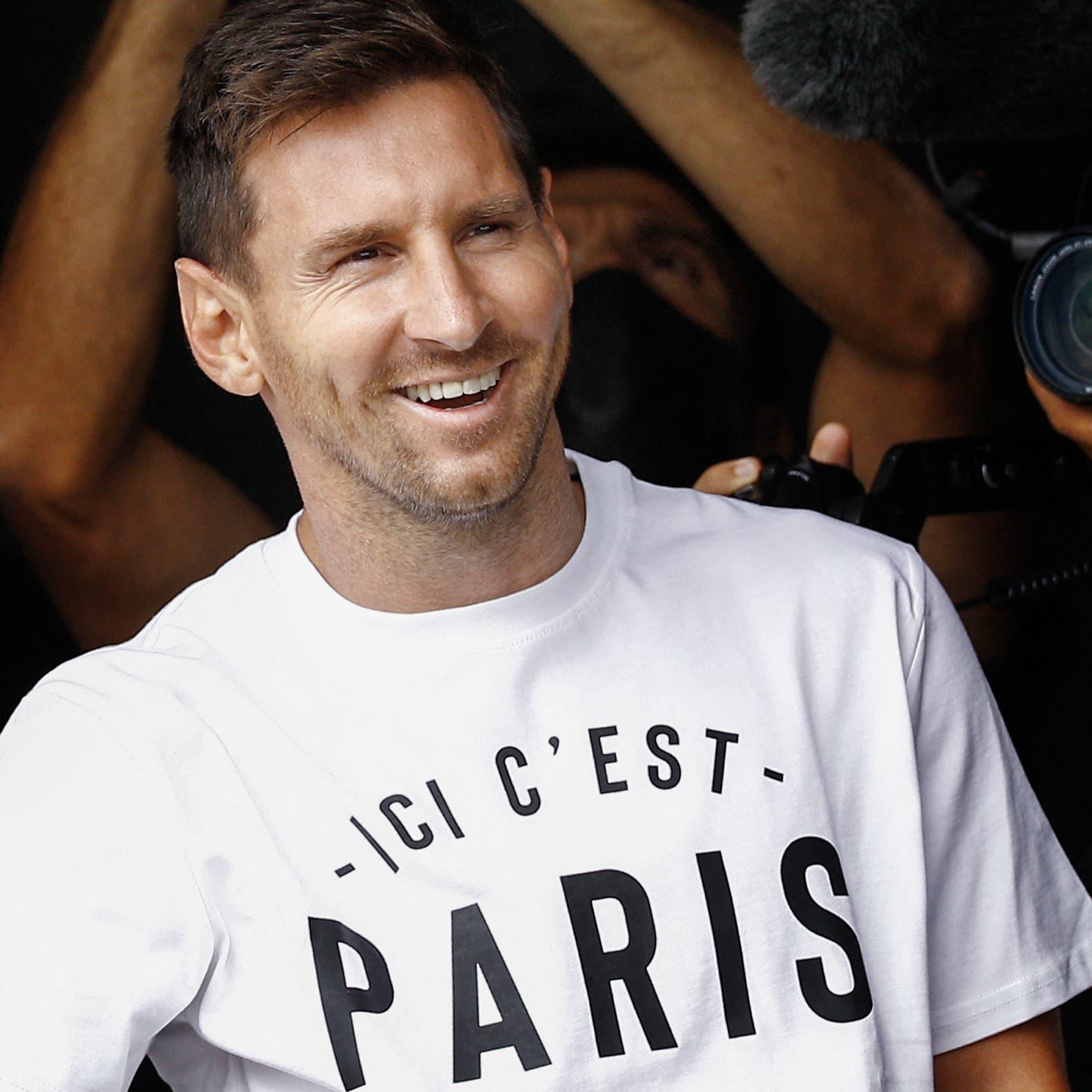 ميسي سيتقاضى جزءًا من راتبه في باريس سان جيرمان عملات مشفره