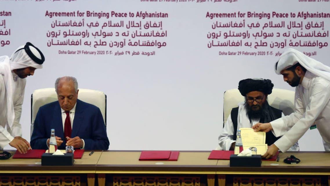 مذاکرات صلح طالبان با آمریکا