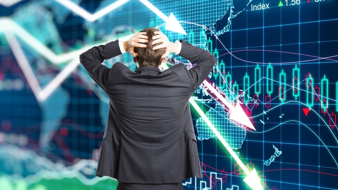 انهيار أسواق المال (تعبيرية)