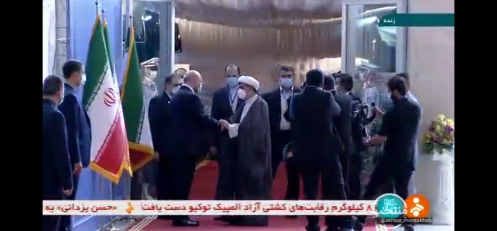 حسين الديهي في البرلمان الإيراني