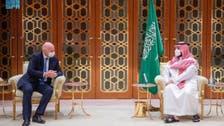 الأمير محمد بن سلمان يستقبل إنفانتيو ورئيس الاتحاد الإفريقي