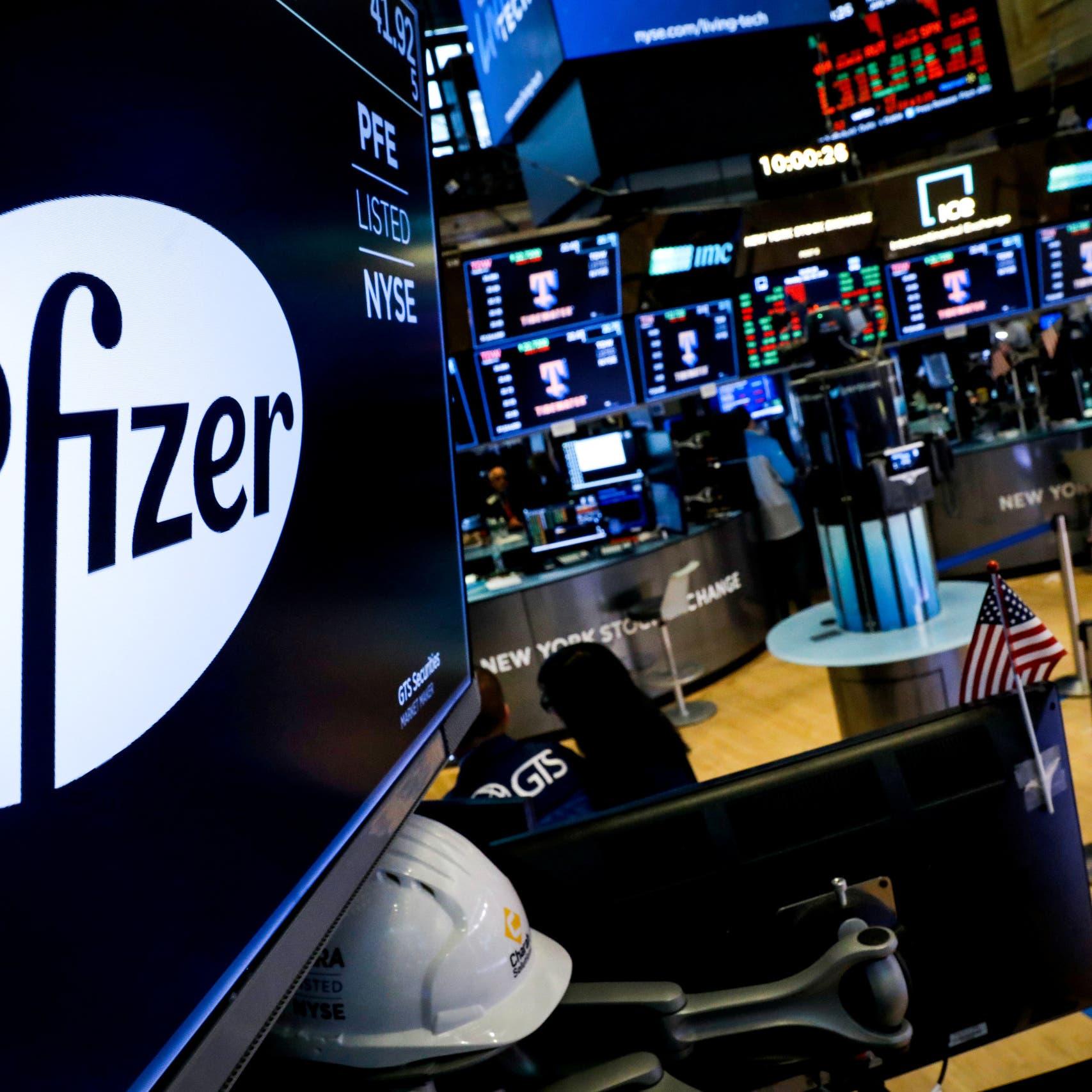 ارتفاع قياسي لأسهم فايزر مع انتشار كورونا في أميركا