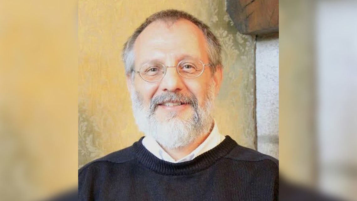 Catholic Priest Olivier Maire who was murdered in France on Saturday. (Twitter)