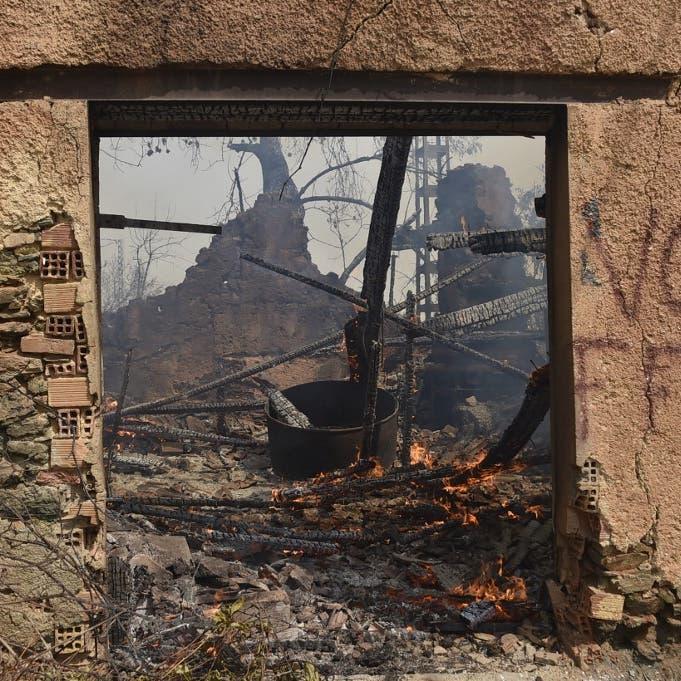 الجزائر: فعل إجرامي وراء الحرائق.. والأماكن اختيرت بدقة