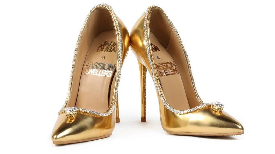 Jada Dubai and Passion Jewelers Passion Diamond shoes. Price tag: $23.6 million. (Supplied)