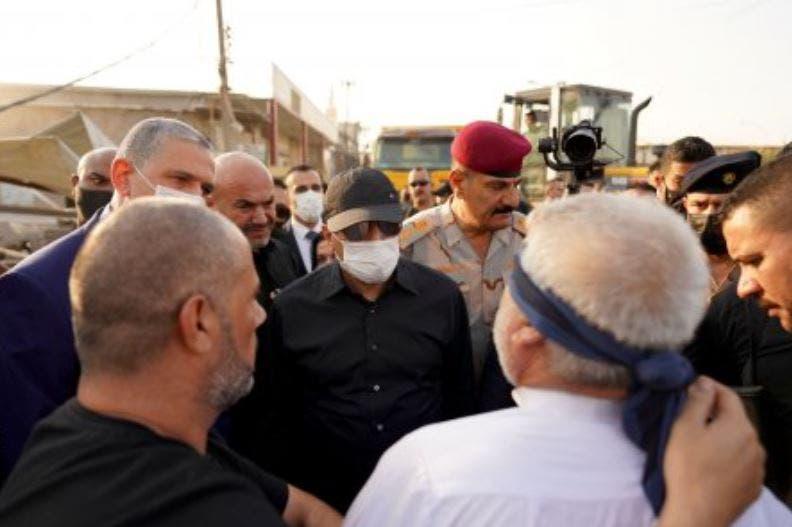قاتل مدير بلدية كربلاء أمام الكاظمي (واع)