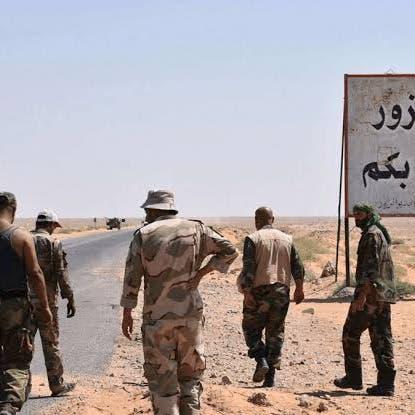 محملة بالسلاح.. ضبط شاحنات خضار قادمة من إيران إلى دير الزور