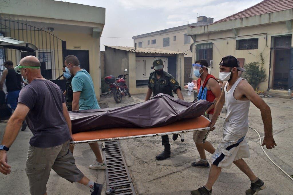 سقوط قتلى في حرائق الجزائر