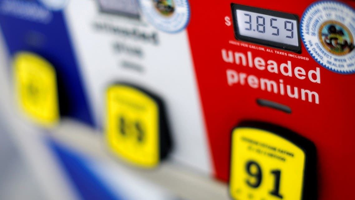 A gas pump at an Arco gas station in San Diego, California, US. (Reuters)