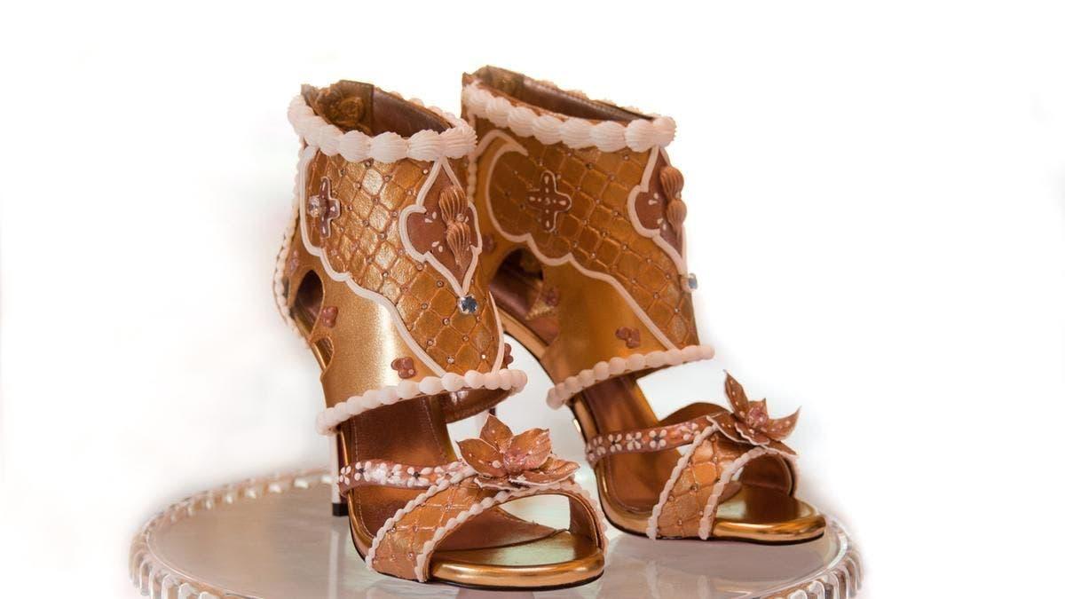 Debbie Wingham heels. Price tag: $15.1 million. (Supplied)