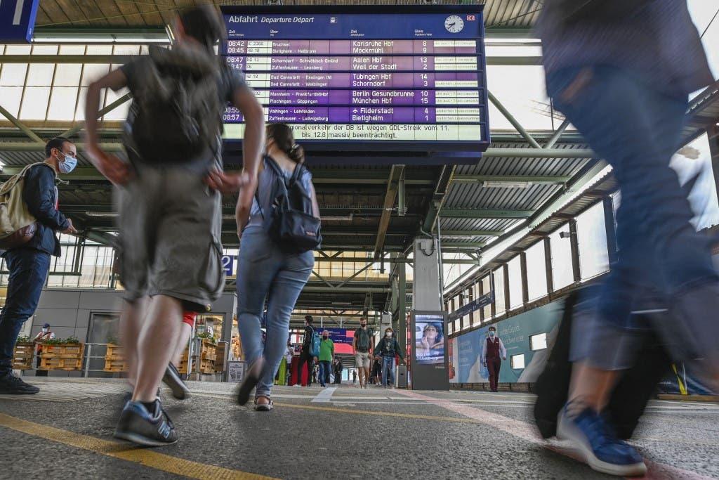 اضراب عمال السكك الحديدية في ألمانيا