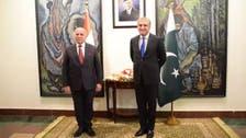 عراقی وزیر خارجہ کی پاکستان آمد، شاہ محمود قریشی سے ملاقات