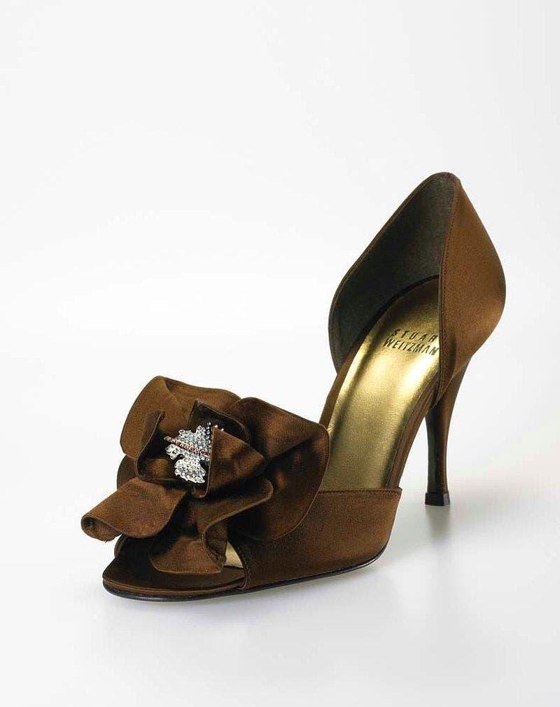 Stuart Weitzman Rita Hayworth heels. Price tag: $3million. (Supplied)