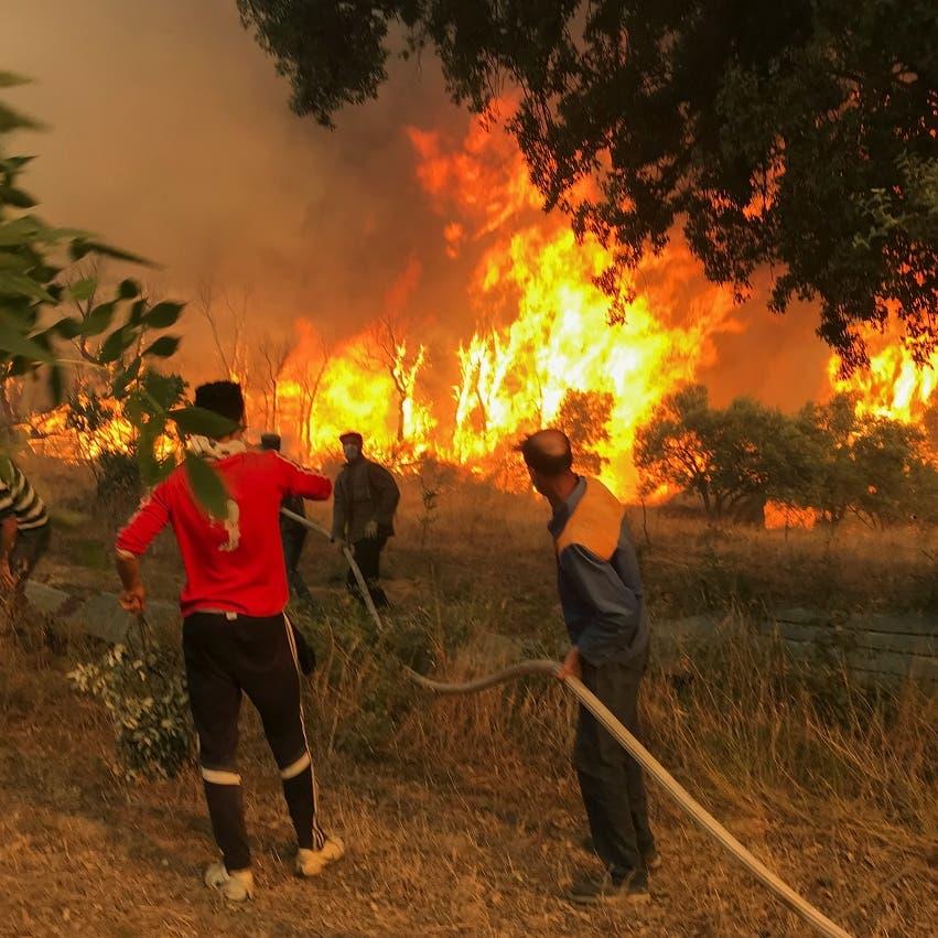 Algeria probes crowd lynching, setting fire of arson suspect Jamal Ben Ismail