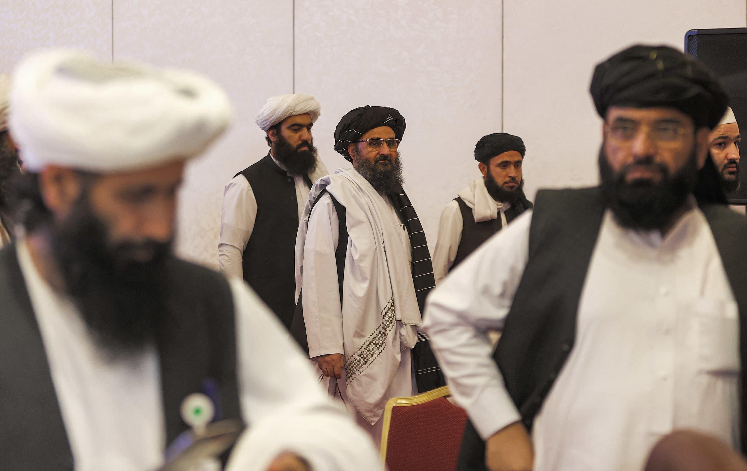فريق مفاوضي طالبان في الدوحة
