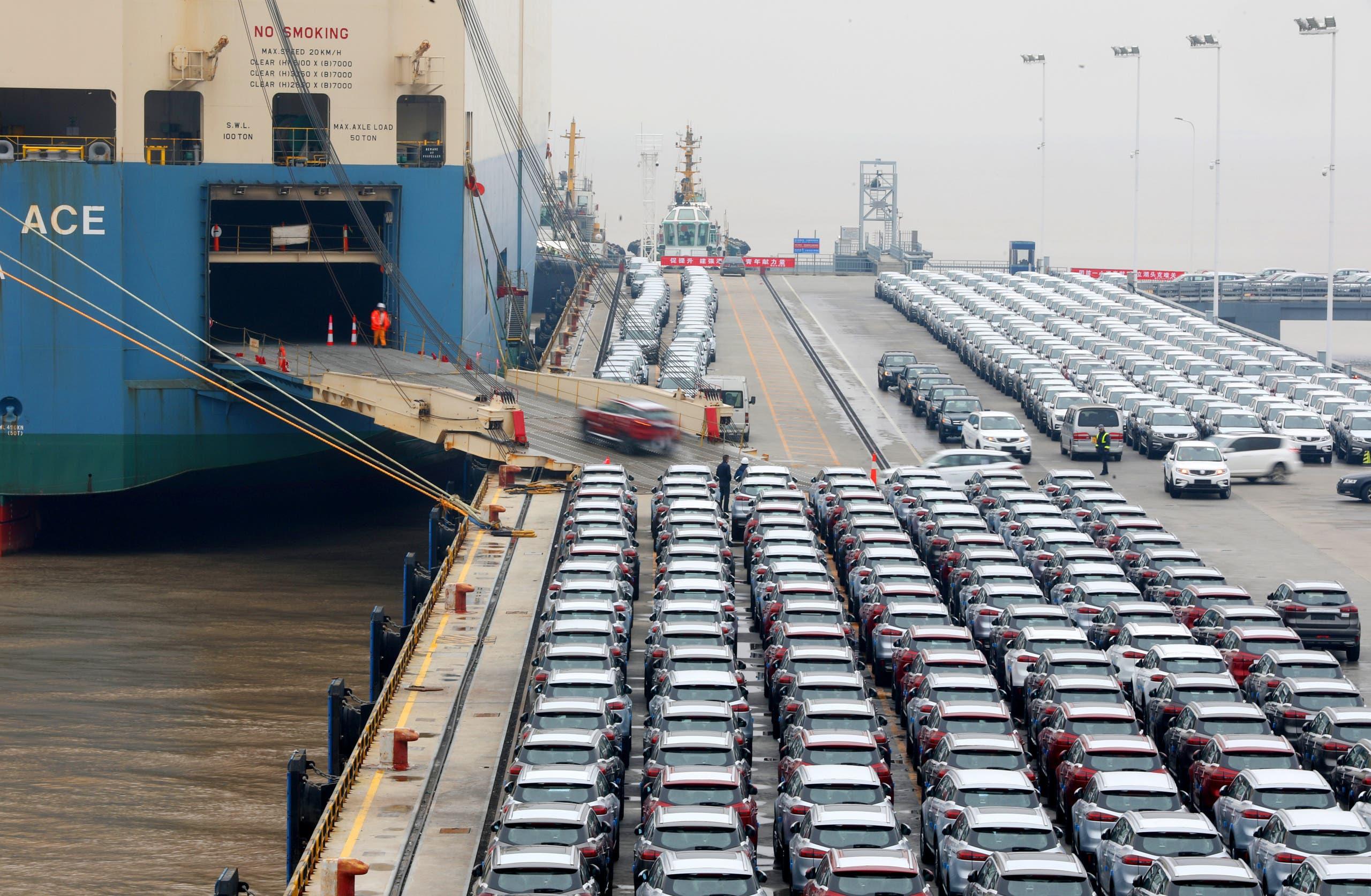 جزء من ميناء نينغبو تشوشان (أرشيفية)
