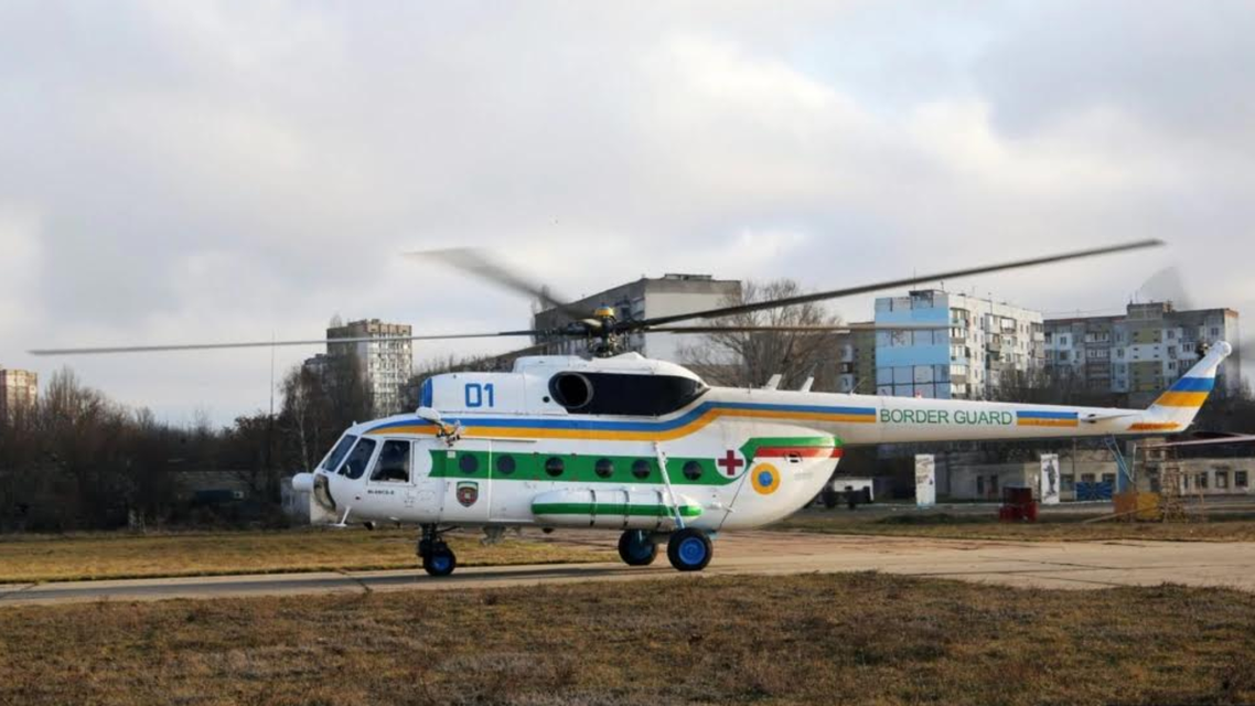 Russia : Helicopter crashed