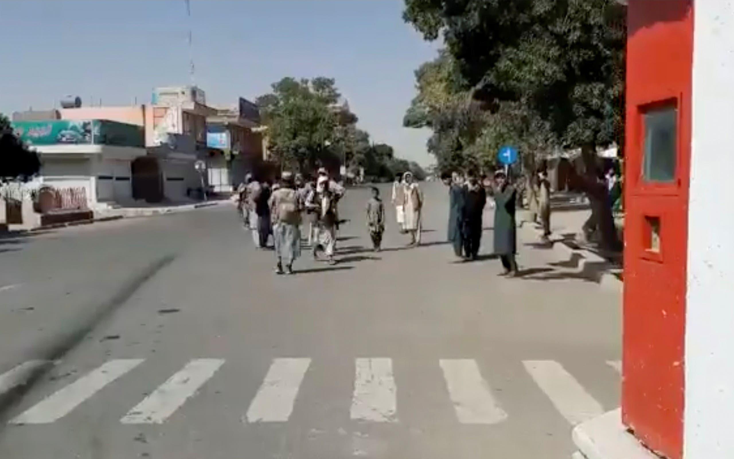 مقاتلو طالبان اليوم في غزنة