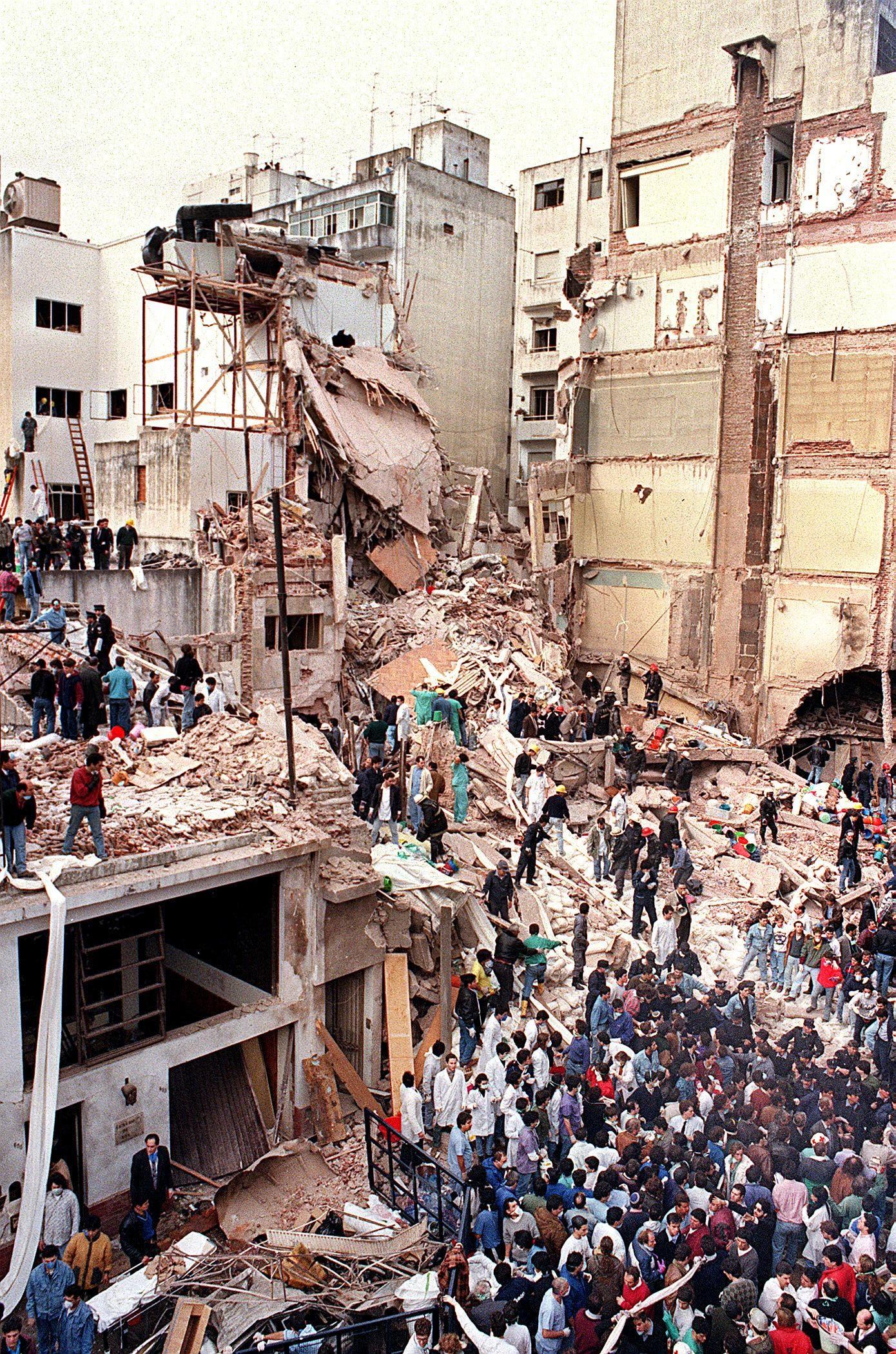 من الهجوم الذي وقع في العاصمة الأرجنتينية في 1994