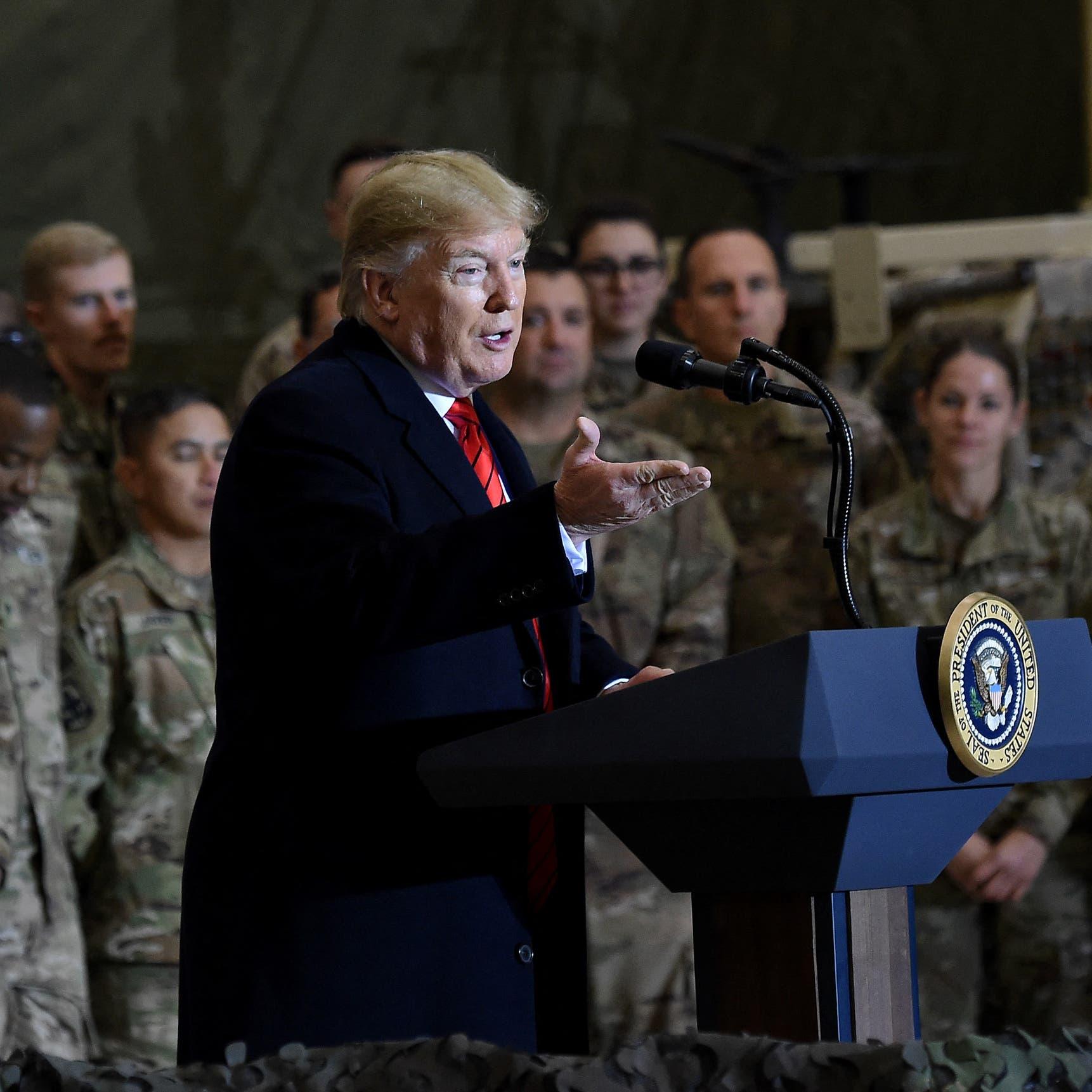ترمب يحمّل بايدن مسؤولية تقدم طالبان في أفغانستان