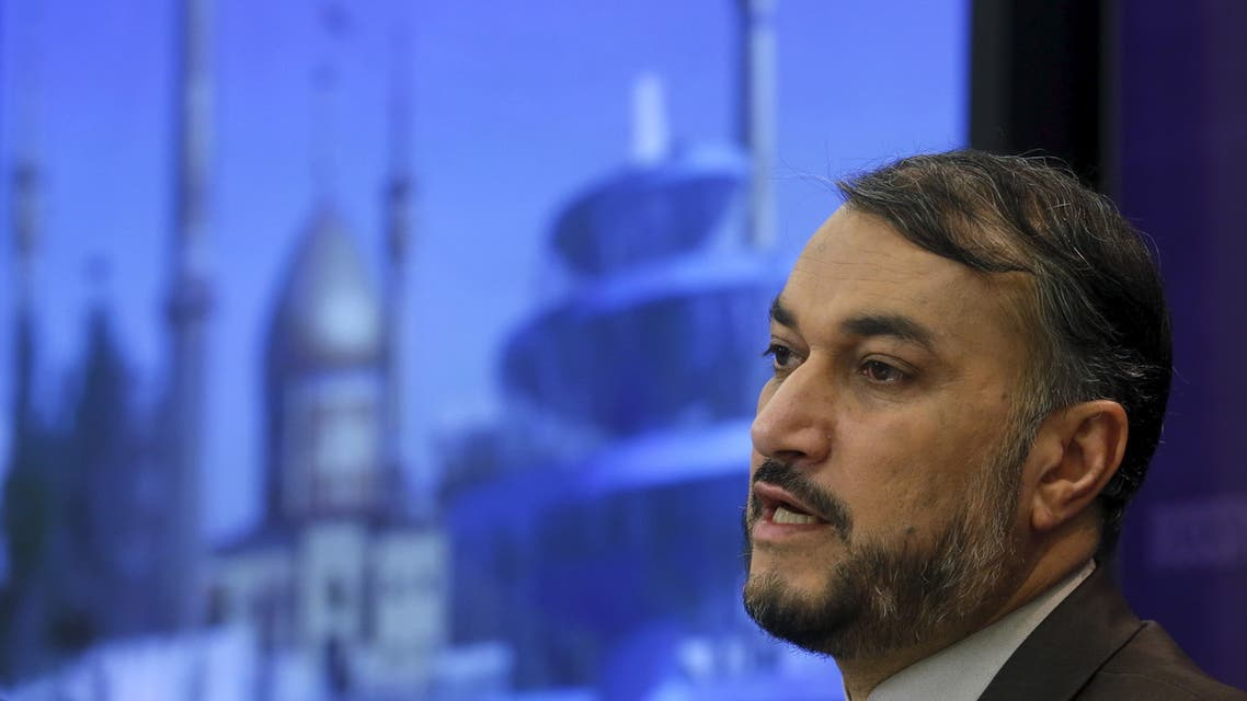 Hossein Amir-Abdollahian speaks during a news conference in Moscow, Russia, September 22, 2015. (File photo: Reuters)