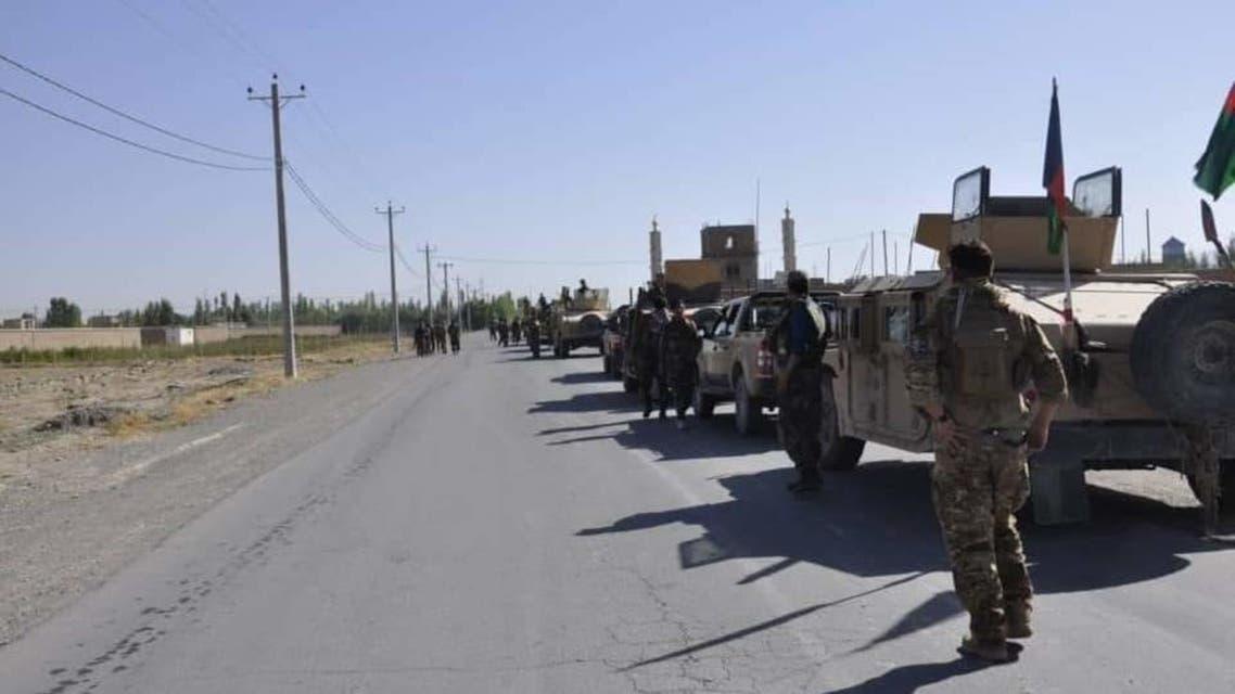 عکس از صفحه وزارت دفاع ملی افغانستان