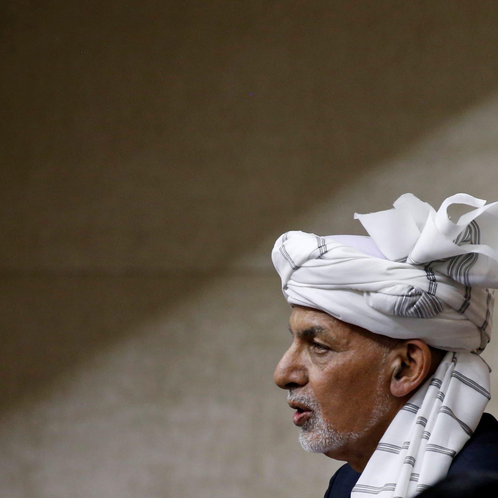 أفغانستان.. أشرف غني يغادر كابل بطائرة مروحية