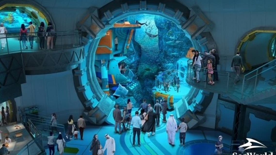 SeaWorld Abu Dhabi, the latest mega attraction slated to open in the United Arab Emirates, will be home to the world's largest and most expensive marine aquarium. (Supplied)