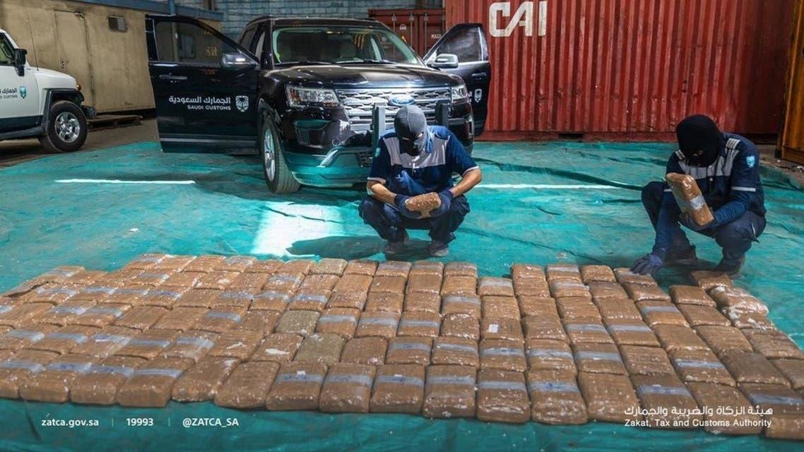 Saudi customs foils attempt to smuggle 1.6 million Captagon pills