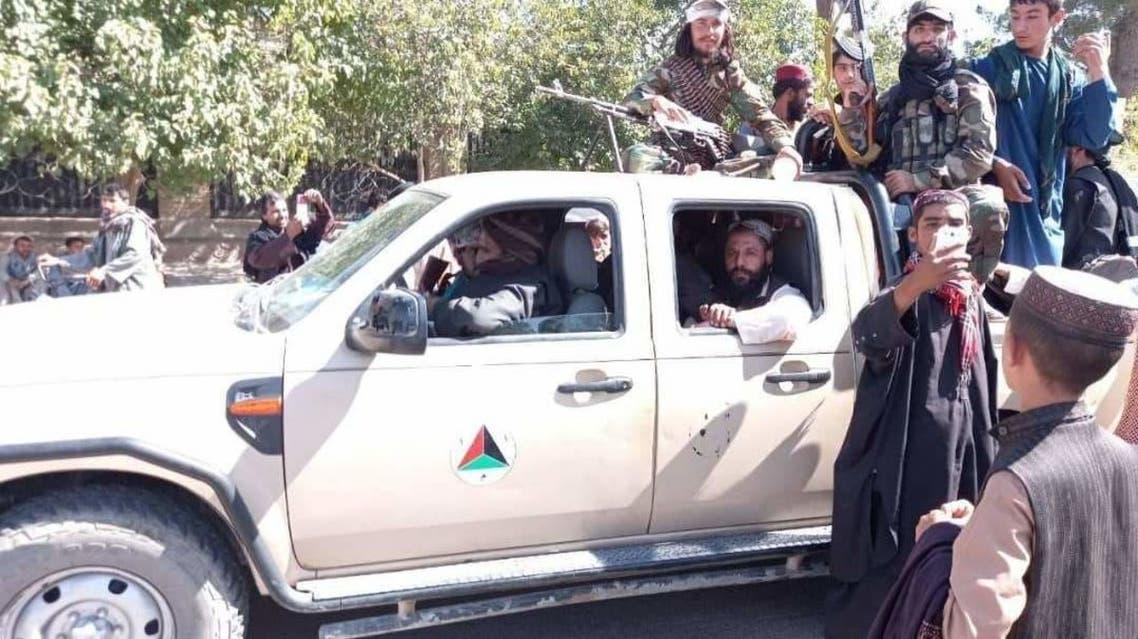 تصاویر طالبان در شهر هرات