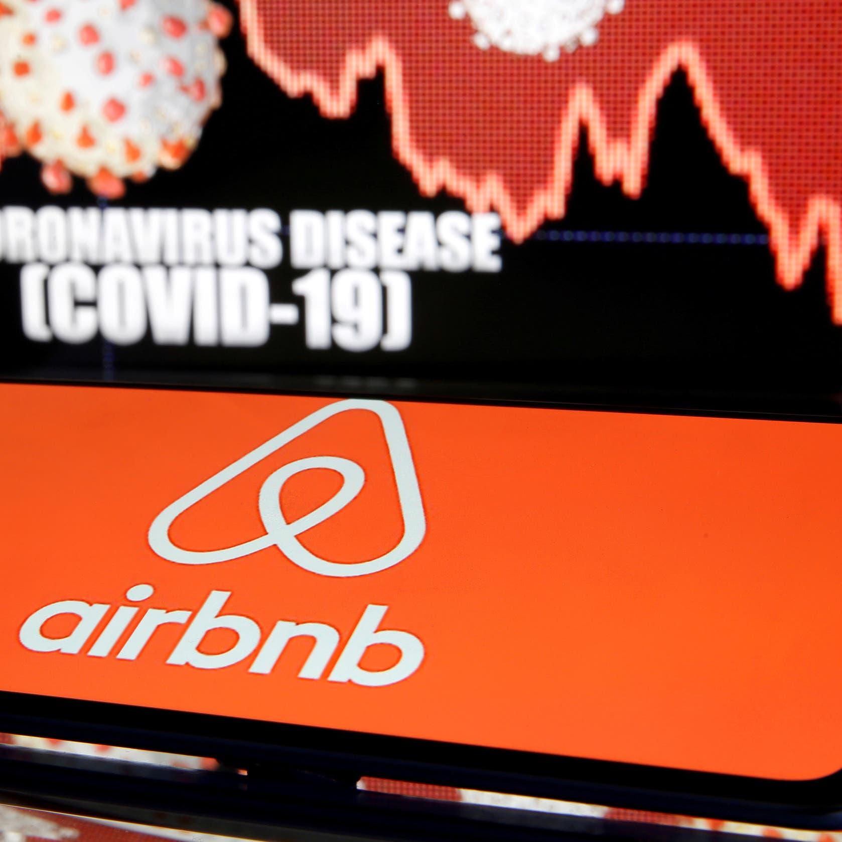 انتكاسة متوقعة في الحجوزات تهوي بسهم Airbnb بعد موجة كورونا الجديدة