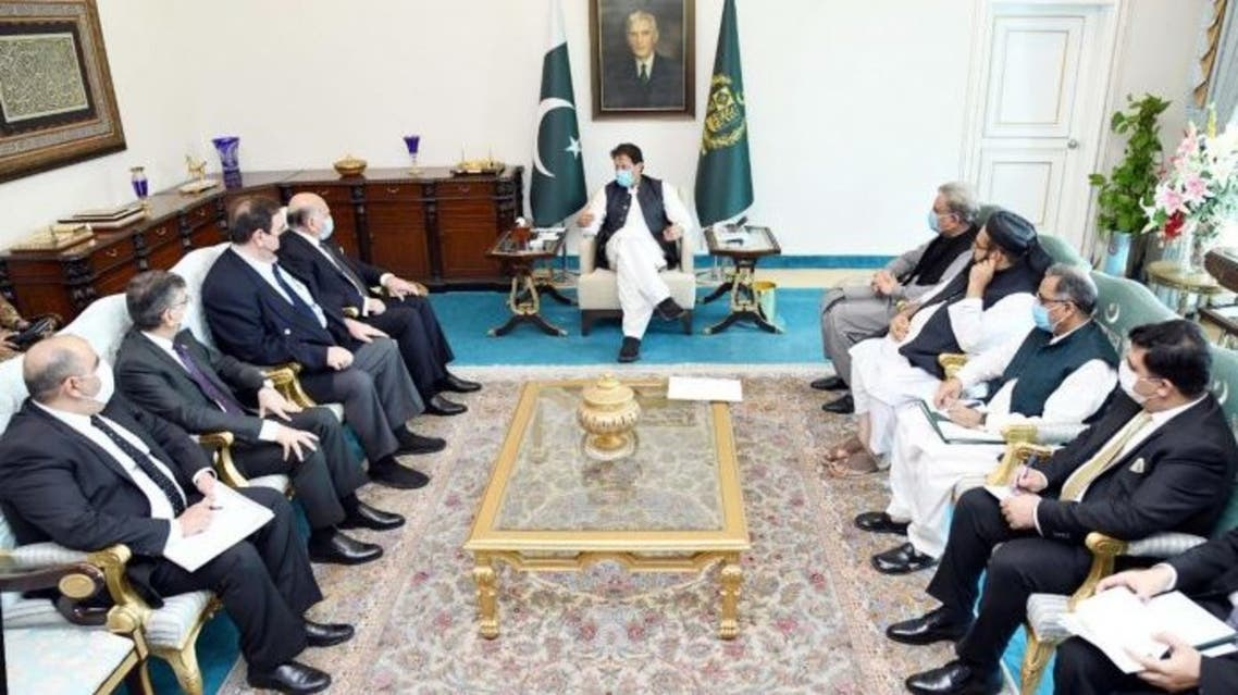 PM IK met with Iraqi foreign Minister