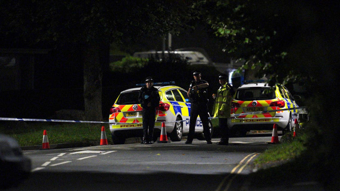 """Emergency services are seen near the scene of incident on Biddick Drive, in the Keyham area of Plymouth, southwest England, Thursday, Aug. 12, 2021. Police in southwest England said several people were killed, including the suspected shooter, in the city of Plymouth Thursday in a """"serious firearms incident"""" that wasn't terror-related. (File photo: AP)"""
