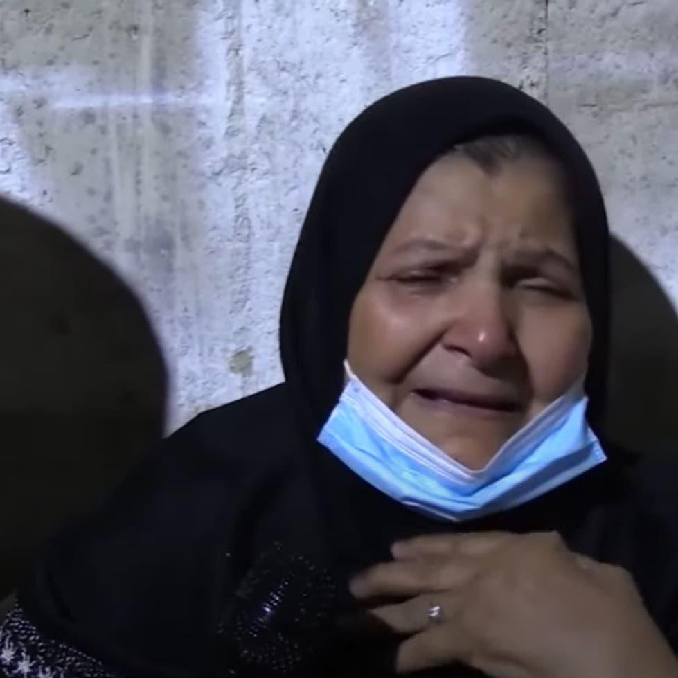 فيديو.. والدة الجزائري المحروق ظلماً تبكيه بلوعة