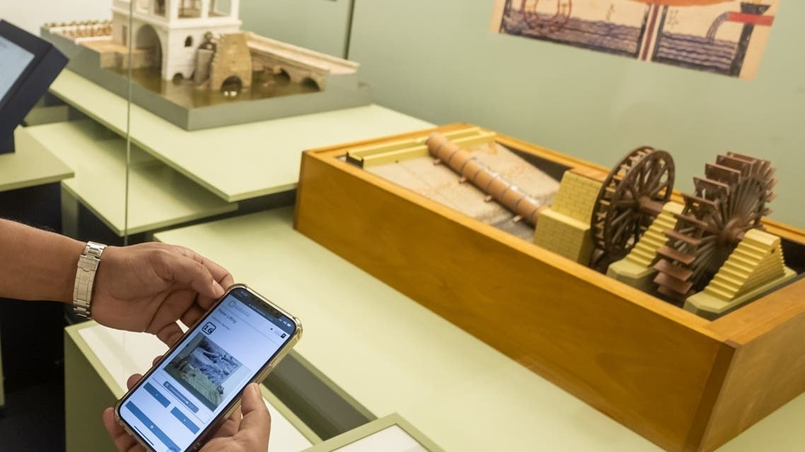 Visitors can use their smart phones and tablets at the museum to browse through the museums' collections and listen to the history behind them without having the need to install any new application. (Courtesy: SMA)
