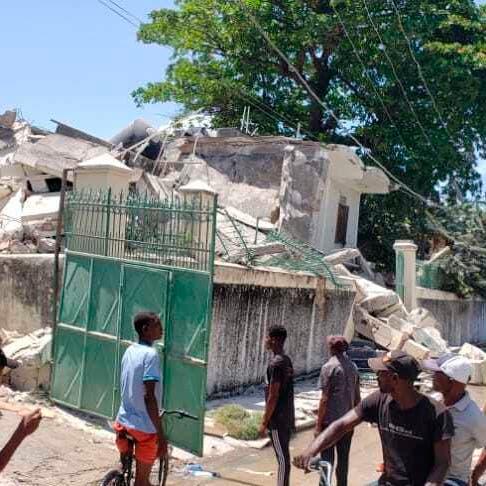 زلزال بقوة 7.2 يضرب هايتي.. ومقتل 29