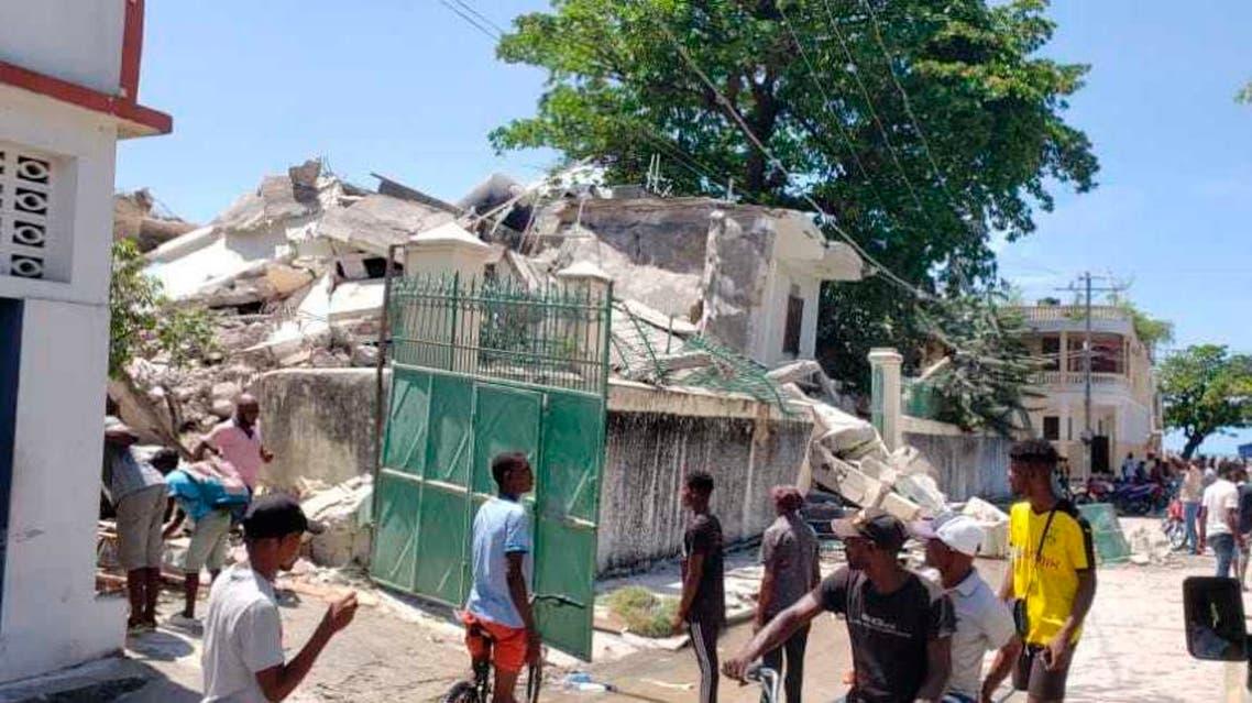 زلزال يضرب هايتي - أب