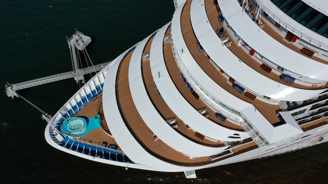 The Carnival Panorama cruise ship sits docked, empty of passengers, as the global outbreak of the coronavirus disease (COVID-19) continues, in Long Beach, California, US, April 16, 2020. (File Photo: Reuters)