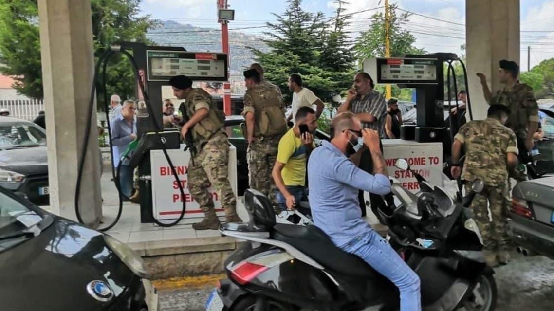 الجيش اللبناني يداهم محطات الوقود
