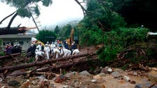 Mudslides hit southwestern Japan after heavy rain causes floods