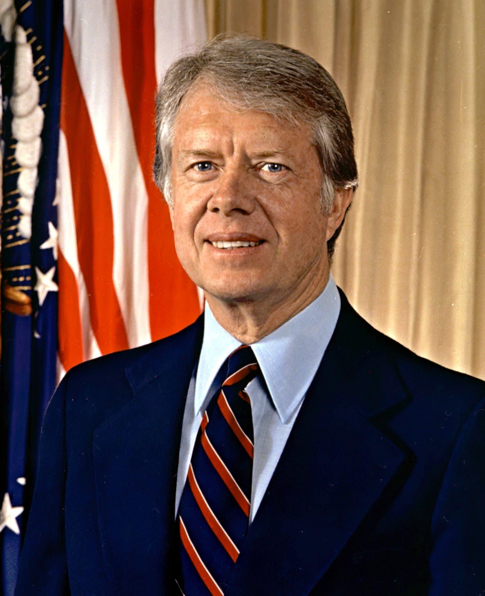 صورة للرئيس الأميركي جيمي كارتر