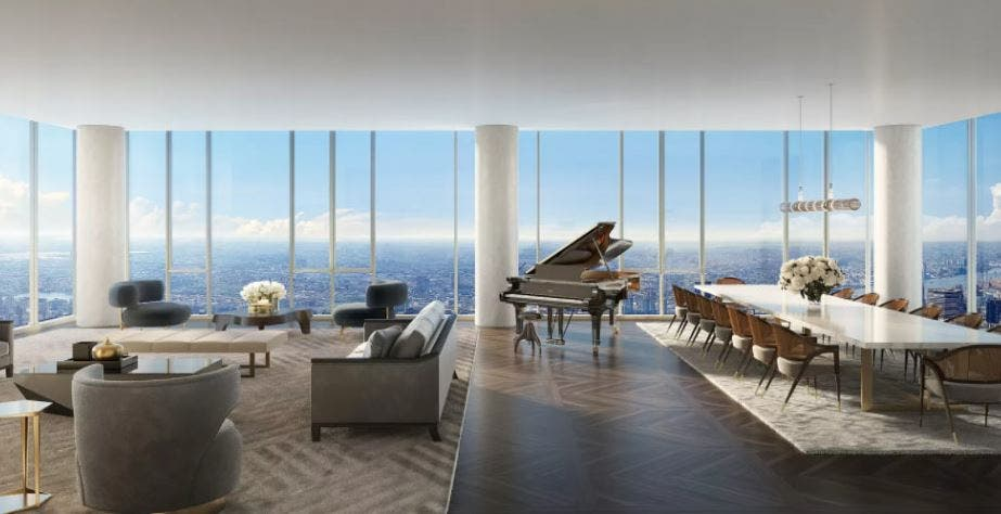 صورة الشقة في برج سنترال بارك