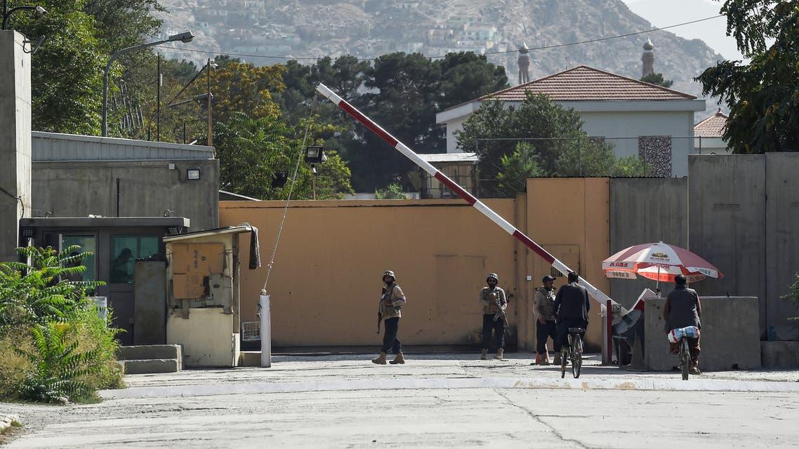 أفراد الأمن الأفغان في كابول (فرانس برس)