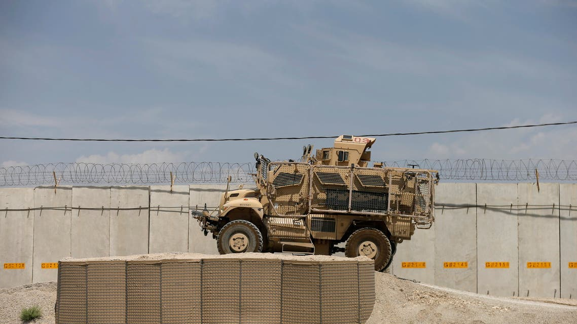 FILE PHOTO: A Mine Resistant Ambush Protected vehicle, MRAP, is seen in Bagram U.S. air base, after American troops vacated it, in Parwan province, Afghanistan July 5, 2021. (File Photo: Reuters)