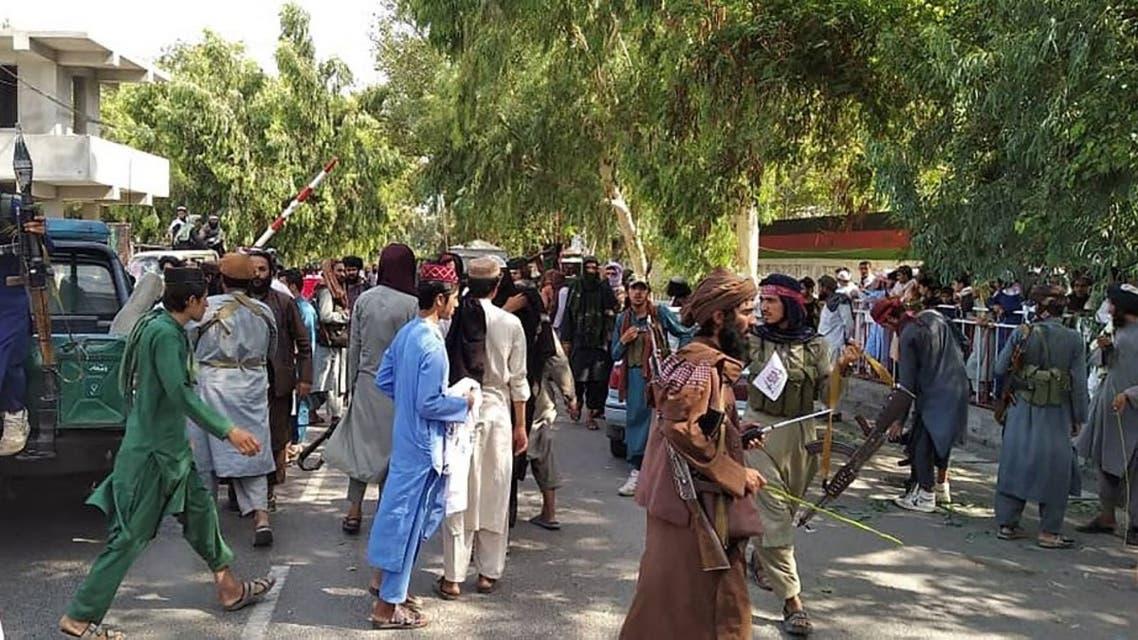 عناصر من حركة طالبان في كابل