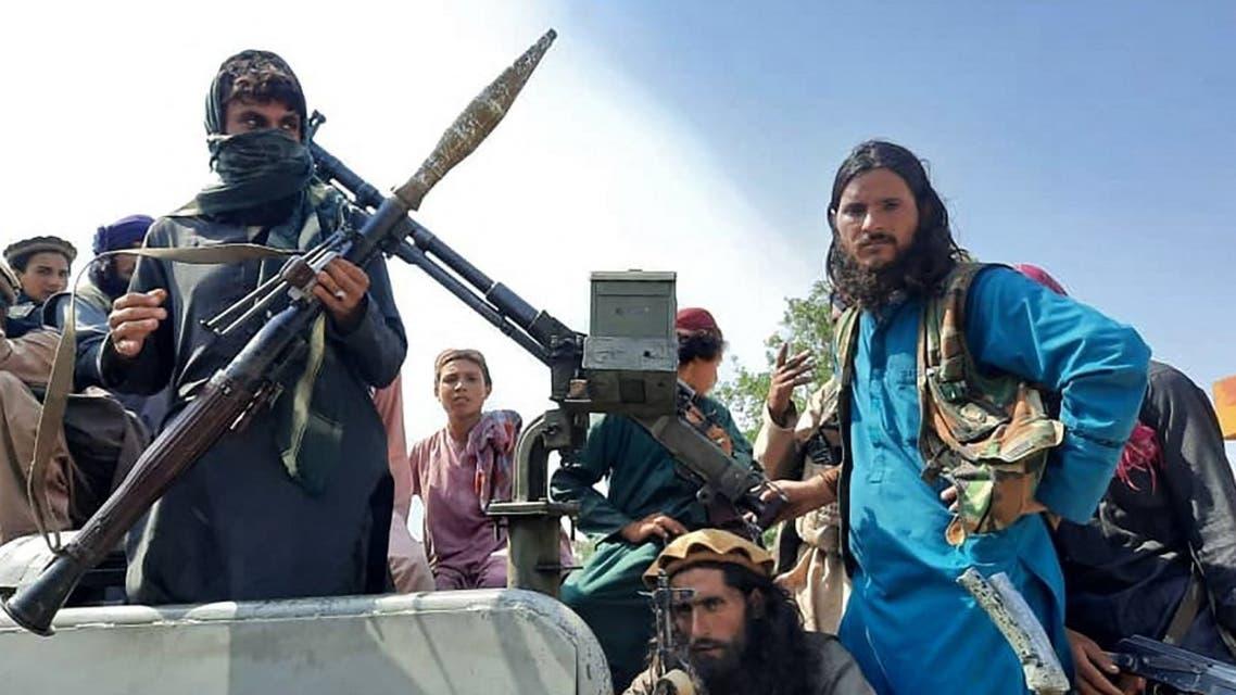 مقاتلو حركة طالبان في أفغانستان - فرانس برس